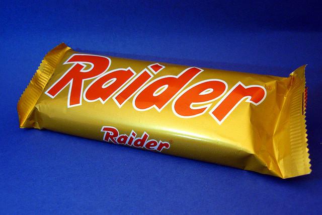 raider - lo snack preferito dal lutile