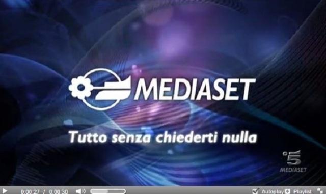 Spot Mediaset 2013
