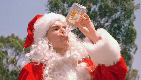 Drinking Bad Santa